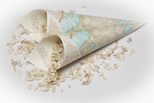 Χωνάκια-χάρτες.