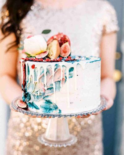 Θεματική γαμήλια τούρτα.